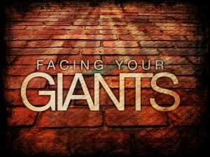 Focus on giants -- you stumble; focus on God -- your giants tumble.