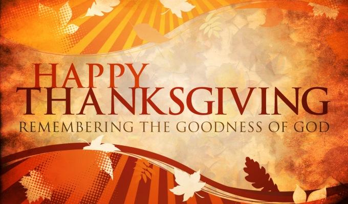 Happy Thanksgiving | Psalms136